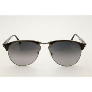 Persol 8649-S Sunglasses 1045/M3 Dark Horn / Gray